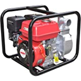 HECHT Benzin-Schmutzwasser-Pumpe 3635 Motorpumpe für Teich Garten oder Haus (6,5 PS, 38.000 l/h, 2 Zoll Anschluss, Förderhöhe 32 m)