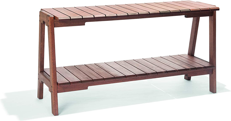 Alaterre Furniture Otero Eucalyptus Wood Outdoor Buffet