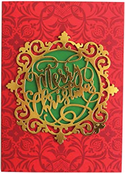 10 Anna Griffin Hanmade Amazing Die-Cut Christmas Cards New Box Happy Holidays