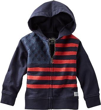 Black 24 Months OshKosh Bgosh Baby Boys Active Hoodie