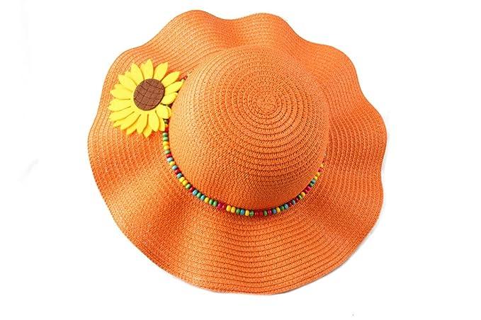 Dantiya-moda cappelli da sole con fiori  f081f1652da9