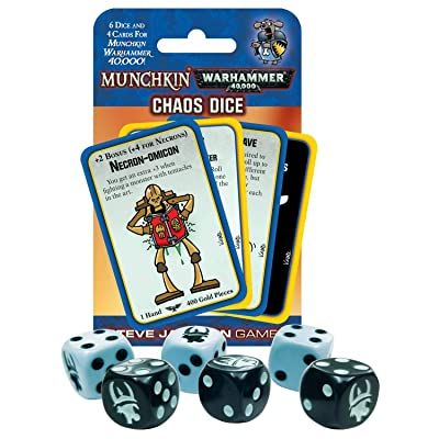 Munchkin Warhammer 40000 Chaos Dice: Toys & Games