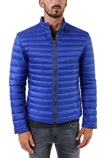 Piumino Leggera Colmar Mens Down Jacket Nero Blu 52: Amazon