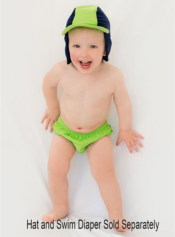 Rashoodz Green or Pink Reusable Baby Swim Diaper No Disposable Diaper Necessary!