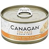カナガンキャットフード チキン&サーモン(75g×12缶)