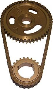 Cloyes C-3028X Heavy Duty Timing Set; Incl. Machined Cam Sprocket; 3 Keyway Crank Sprocket; Double Roller Chain;