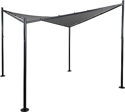 Mendler Pergola HWC de A41, Jardín Carpa toldo, estructura estable de acero