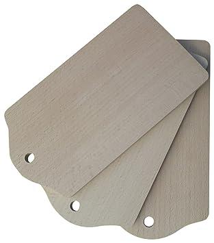 Carrefour 105066749 Planche à découper – Planche à découper de Cuisine (hêtre, Bois,