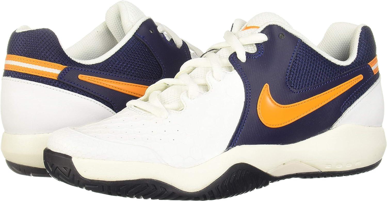 Nike Air Zoom Resistance, Zapatillas para Hombre, Multicolor (White/Orange Peel/Blackened Blue/Phantom 001), 40 EU: Amazon.es: Zapatos y complementos