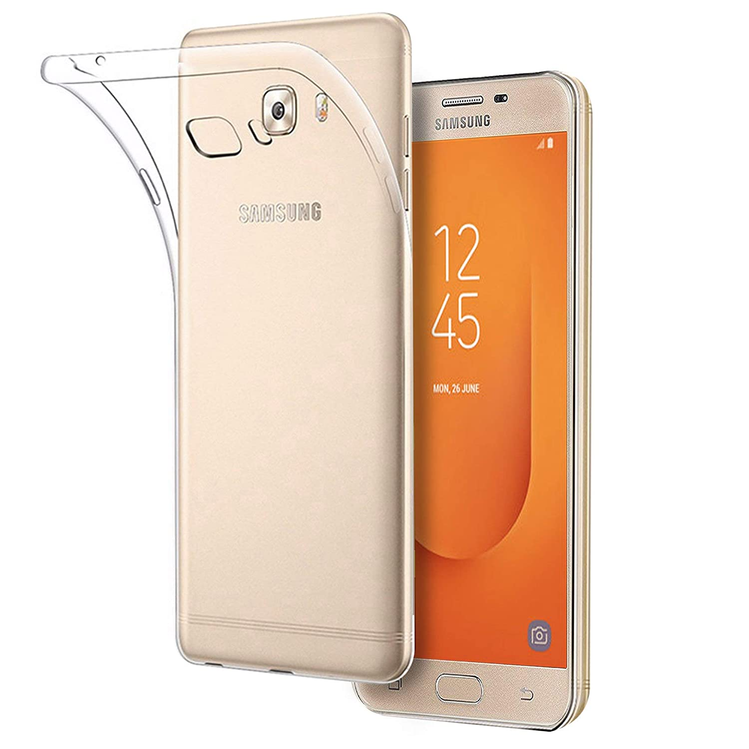 91afe3b896a CareFone Soft TPU Back Cover for Samsung Galaxy J7  Amazon.in  Electronics