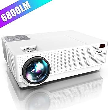 Amazon.com: Proyector, YABER Nativo 1920x 1080p Proyector ...