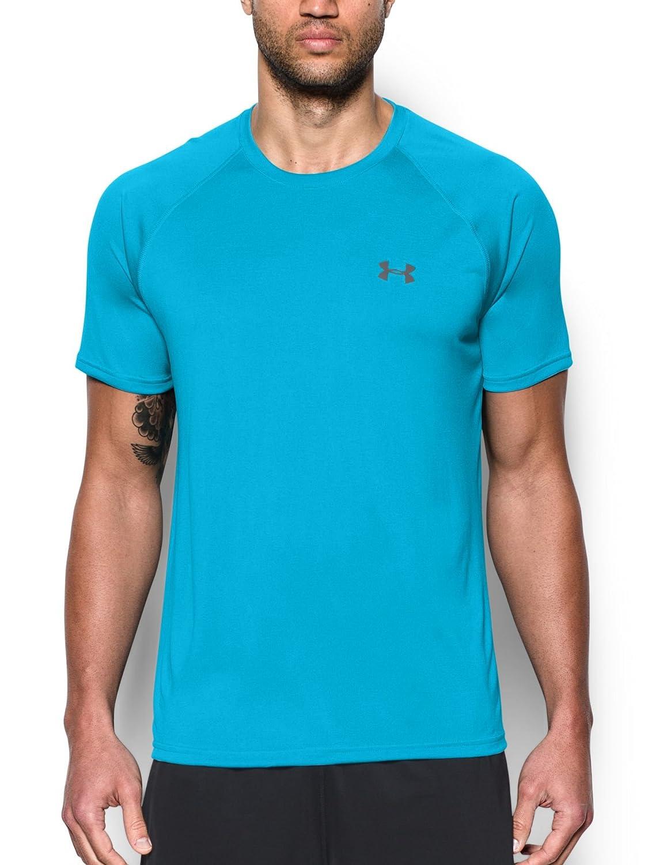 [アンダーアーマー] UA Tech SS Tee メンズ 1228539 B00YSLV2BS Large|メリディアン ブルー メリディアン ブルー Large