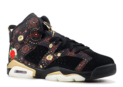 66acccb535de Image Unavailable. Image not available for. Color  Jordan Kid s Air 6 Retro  CNY ...