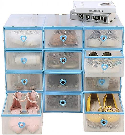 ZLXHZANHJZ Espesar Cajón De Almacenamiento Caja De Zapatos Botas ...