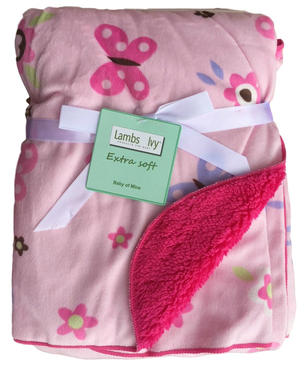 Multiple Designs and Themes Elephant Extra Soft Micro Plush Fleece Blanket Sherpa Backing Anti-Pilling Warm and Cozy Baby Blankets For Girls