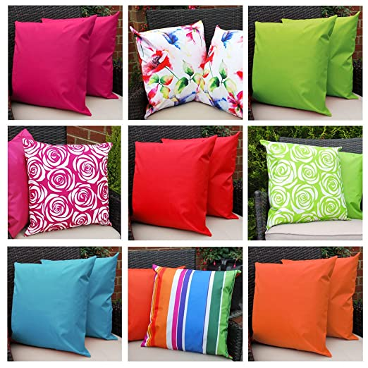 Comfort Co Waterproof Garden Cushions for Chairs with Fibre Filled
