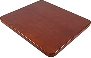 Camco Oak Accents RV Sink Cover- Adds Additional Counter and Cooking Space in Your Camper or RV Kitchen - Bordeaux/Cherry Wood Finish (43436), 13 Inch x 15 Inch