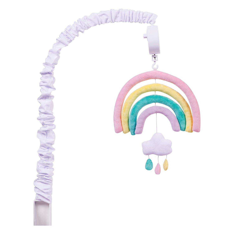 Trend Lab Musical Crib Mobile, Baby Mobile, Nursery, Rainbow