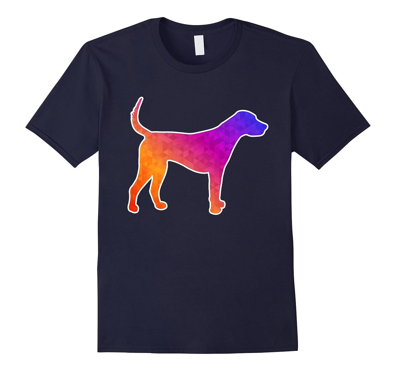 English Foxhound Art Shirt - Low Poly Design-Art