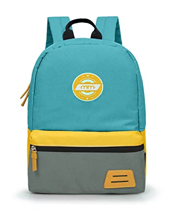 603377af5fb7e0 Amazon.com | MOMMORE Kids Backpack for School with Chest Clip (Blue and  Yellow) | Backpacks
