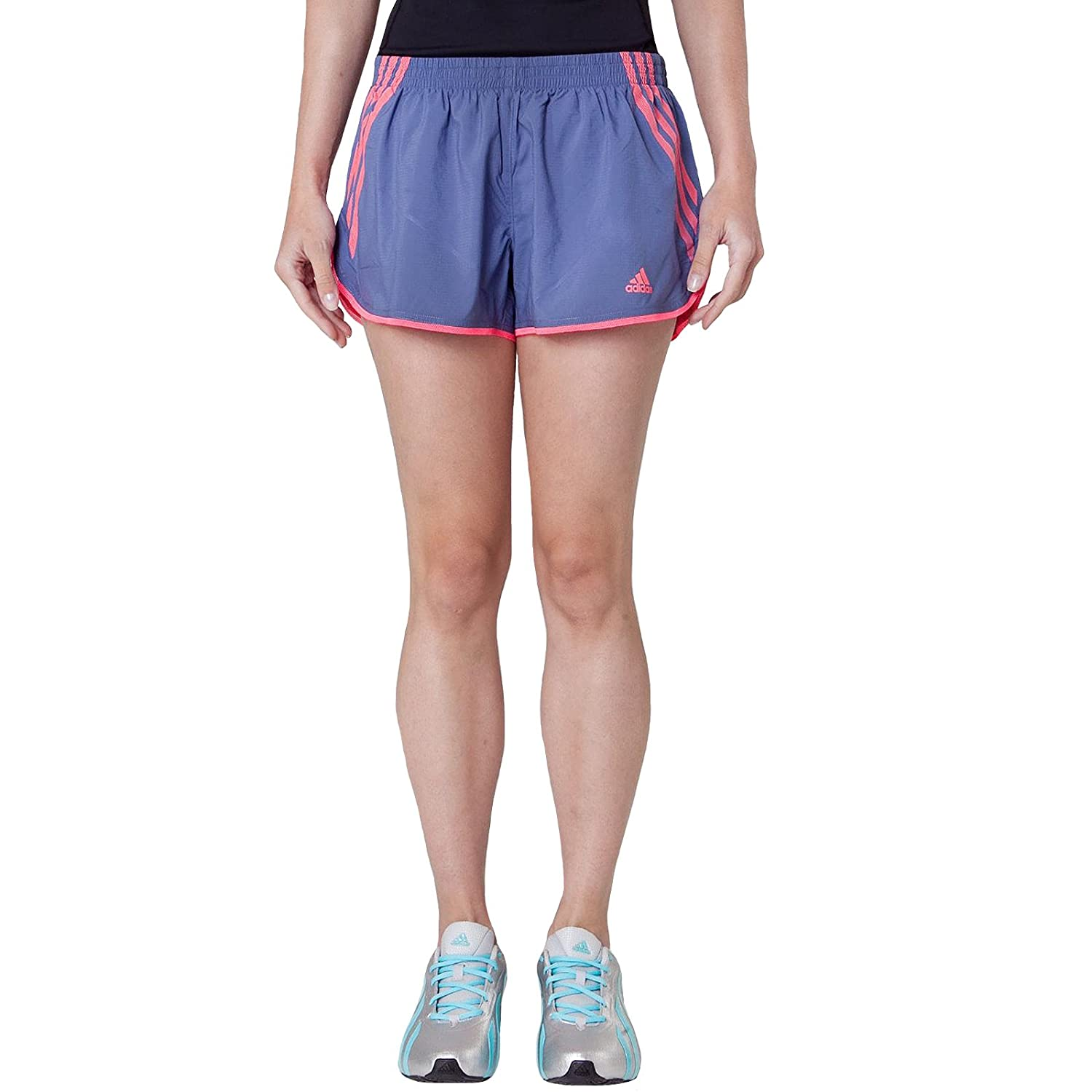 Adidas Lady Adizero Split Running Shorts - Small