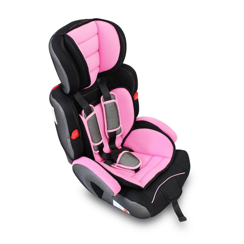 Standards//Certifications: ECE R44 // 04 Tranche d/âge: Enfants de 9 mois /à 12 ans De 9 /à 36 kg Si/ège Auto Rehausseur Todeco Rose Si/ège Auto pour B/éb/é et Enfant