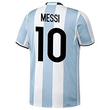 adidas Lionel Messi #10 Argentina Home Jersey 2016/17 YOUTH (YS)