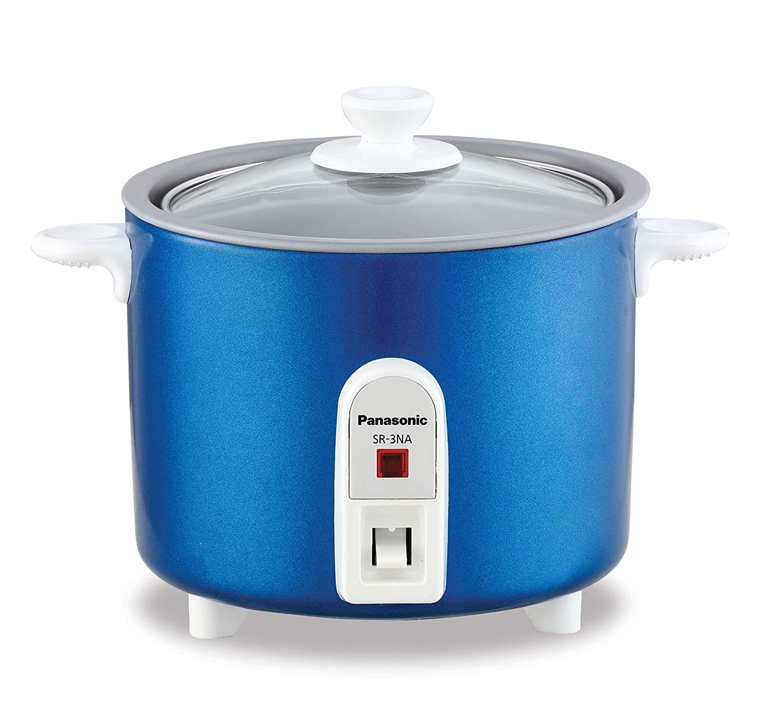 Panasonic Automatic 1.5 Cup Uncooked 3 Cups Cooked Rice Cooker BLUE