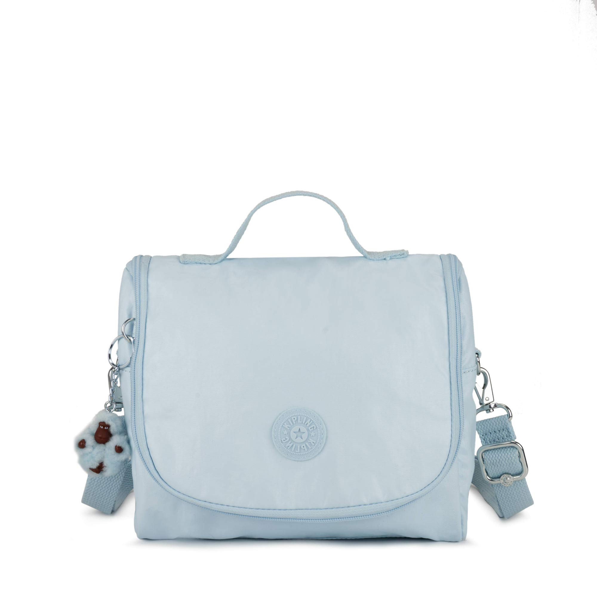 Kipling Kichirou Metallic Lunch Bag One Size Fainted Blue Mtlc