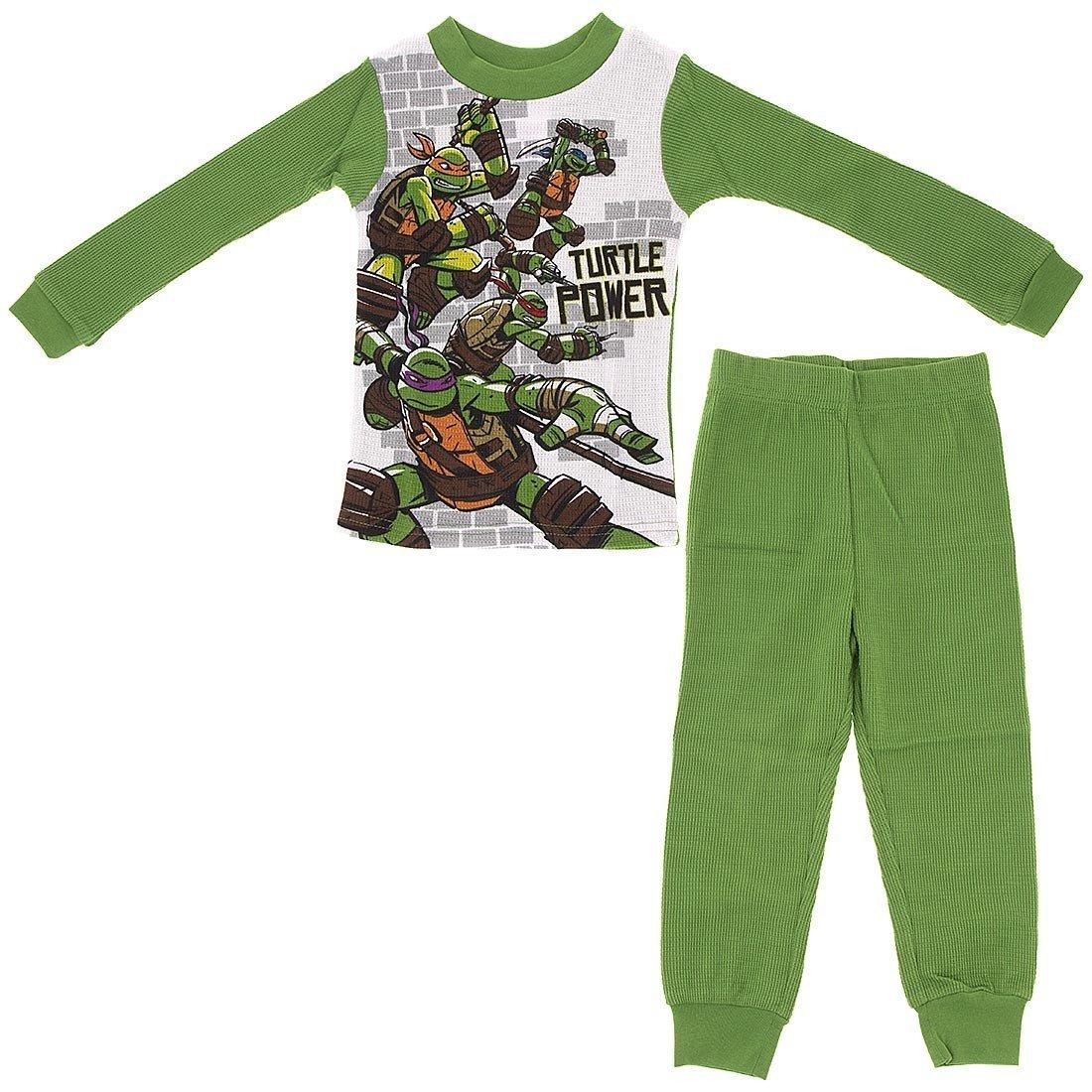 Nickelodeon Big Boys' Teenage Mutant Ninja Turtle Thermal Underwear Set