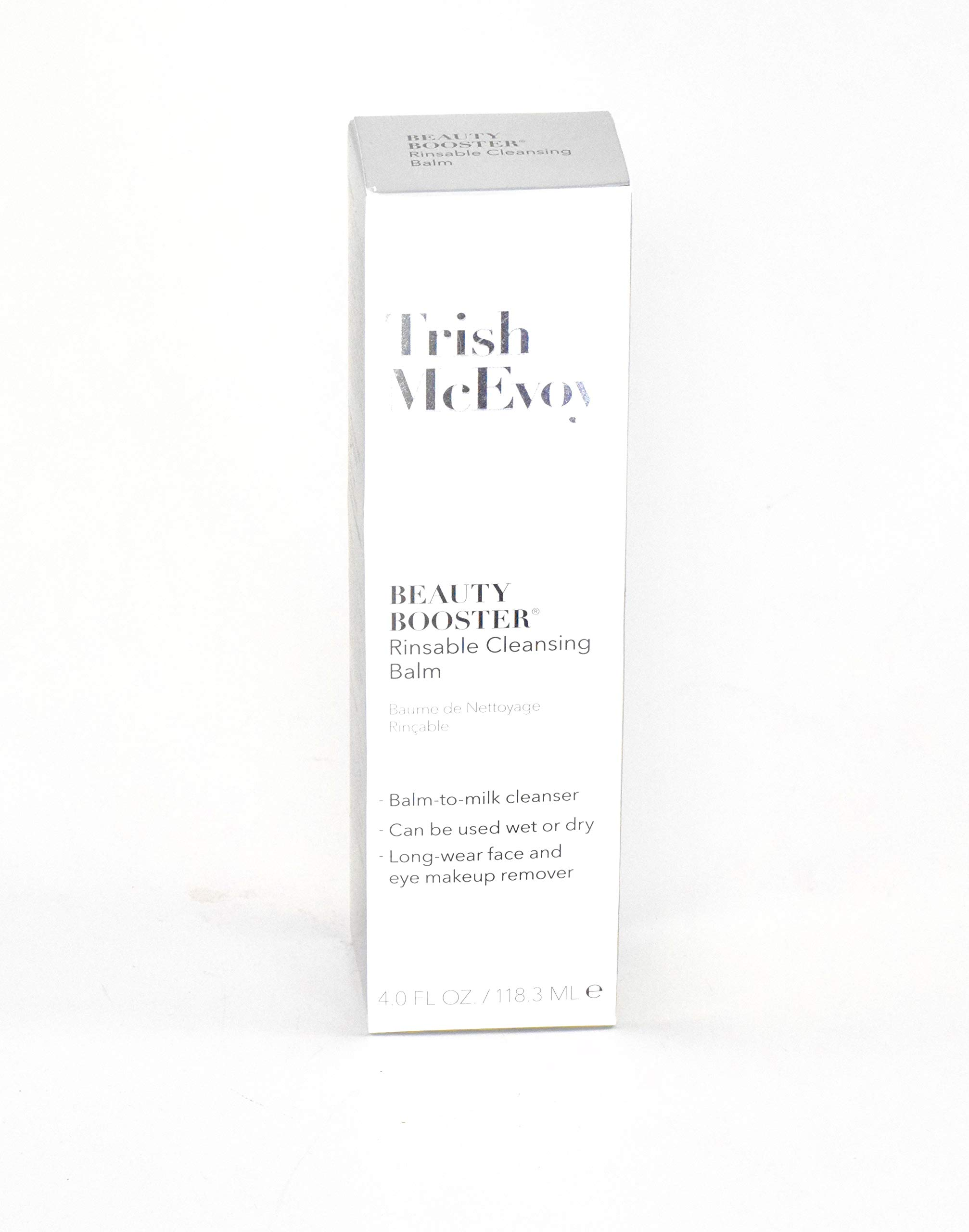 Trish McEvoy Luxuriate Beauty Booster Rinsable Cleansing Makeup Balm 4oz by Trish McEvoy
