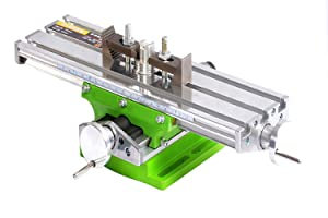 MultifunctionWorktable Milling Working Cross Table Milling Machine Compound Drilling Slide Table For Bench Drill Adjustme X-Y(6330 SIZE)