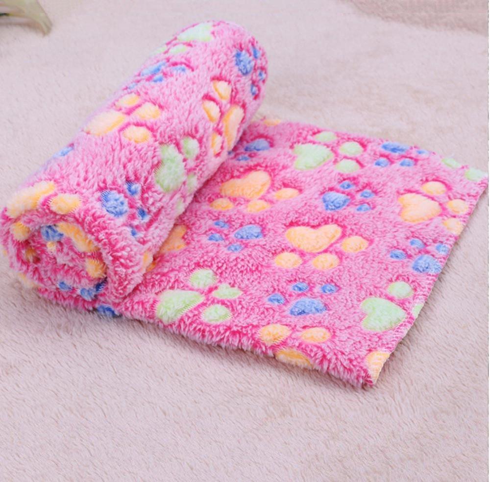 B 60cm40cm B 60cm40cm WUTOLUO Pet Bolster Dog Bed Comfort Pet Litter Mat Pet Blanket Dog Blanket super soft warm coral velvet kennel mat (color   B, Size   60cm40cm)