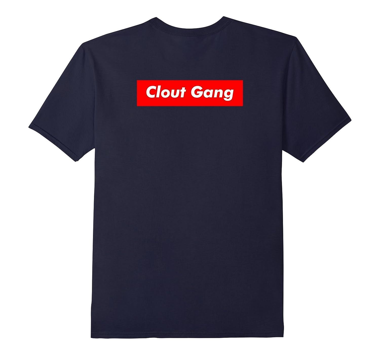 Clout Gang Red Box T-Shirt Back Print-T-Shirt