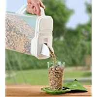 Buddeez Dispenser for Pet Food and Bird Seed