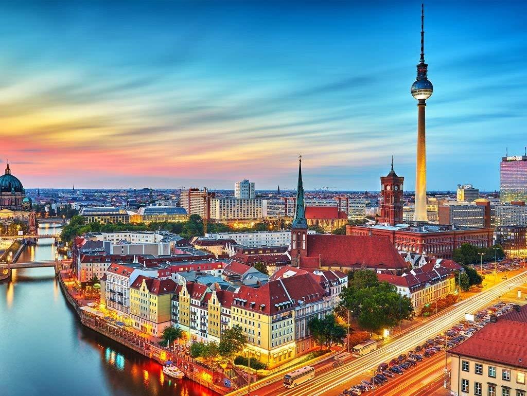 Lais Jigsaw Puzzle Skyline of Berlin 2000 Pieces