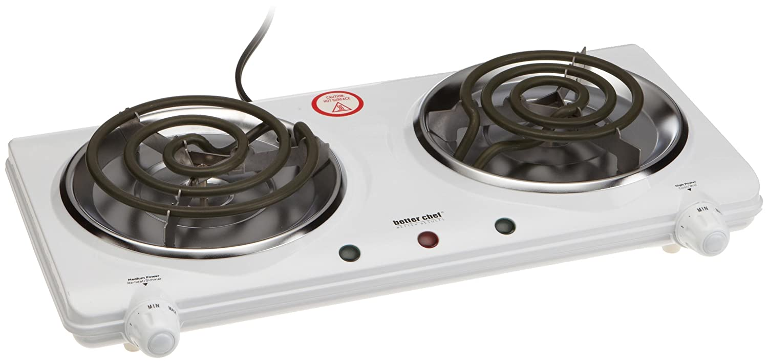 Attractive Amazon.com: Better Chef Double Burner: Electric Countertop Burners: Kitchen  U0026 Dining