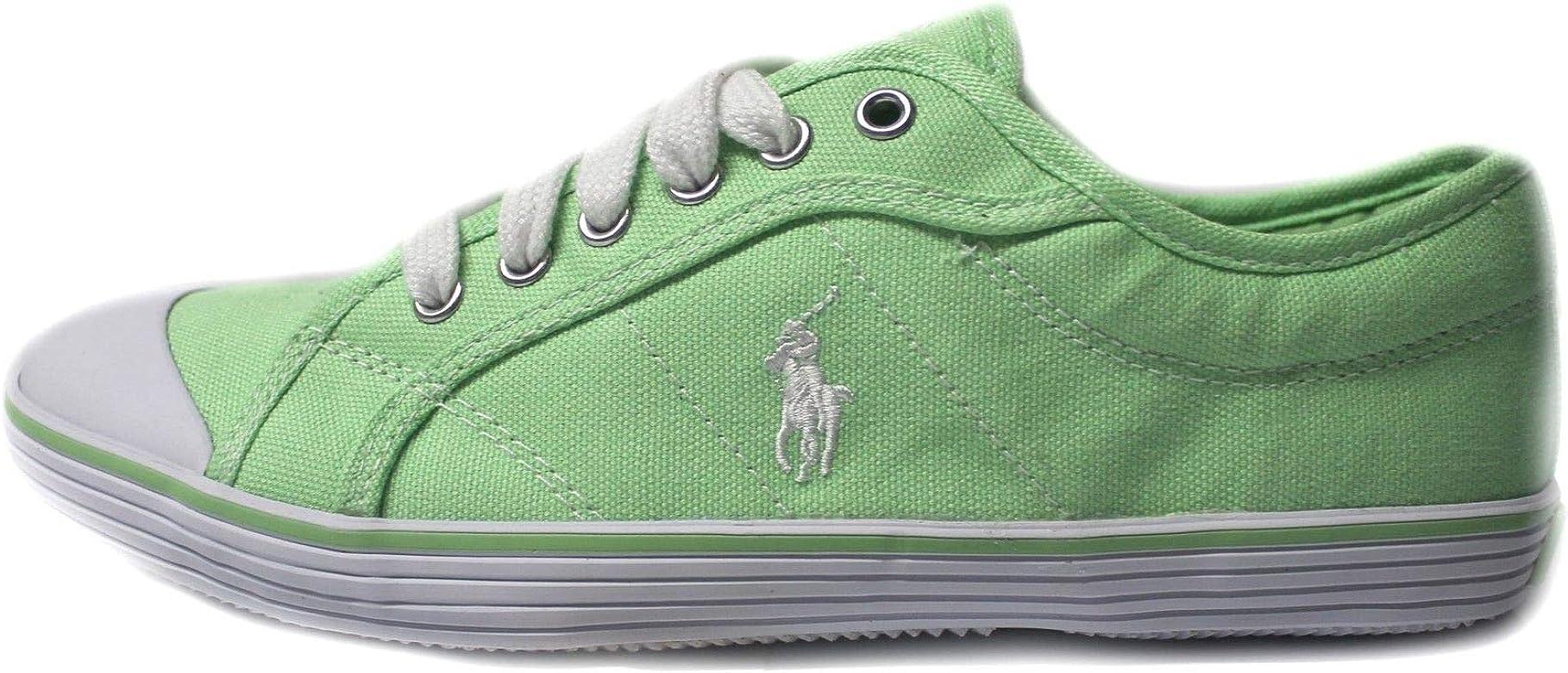 Polo Ralph Lauren - Zapatillas para Hombre Verde Verde Lima, Color ...