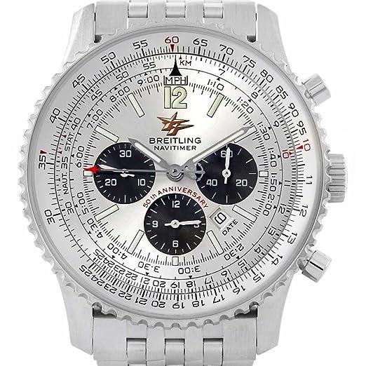 Breitling Navitimer automatic-self-wind Mens Reloj a41322 (Certificado) de segunda mano: Breitling: Amazon.es: Relojes