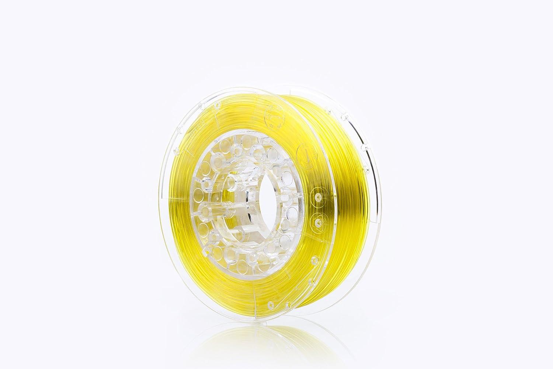 Print me 5906190617132 filamento per stampanti 3d Swift Pet G 1.75 mm, Yellow Glass POLIGRAF