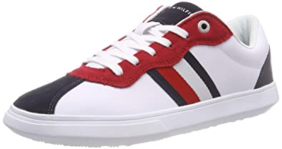 d80c55375cee Tommy Hilfiger Men s s Essential Corporate Cupsole Low-Top Sneakers ...