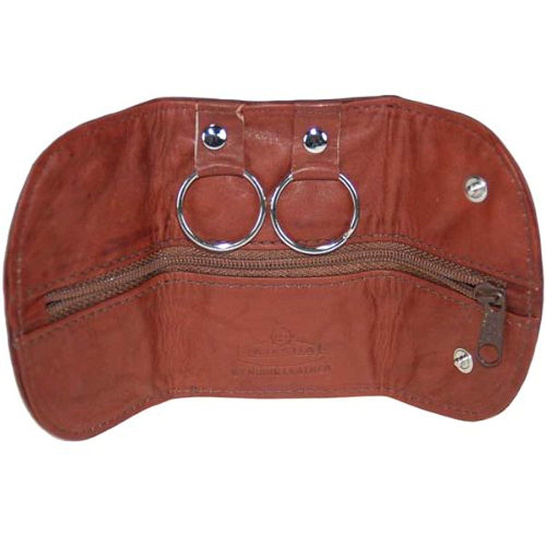 Men/Women Genuine Leather Key Chain Holder Wallet#112CF