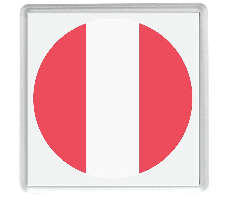 IamEngland Marca para Perú Emoji 58mm x 58mm Nevera imán/Flag for ...