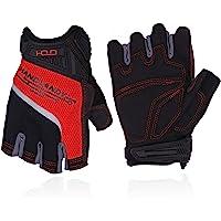Fingerless Work Gloves for Men,Half Finger working Glove Shock Absorbing