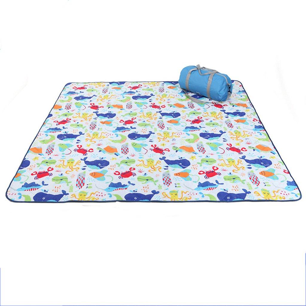 YOTA HOME Picknick-Matte Camping Matte Picknick-Matte Outdoor-Zelt Schlaf Pad Bodenmatte Feuchtigkeit Maschine Waschbar Maschine Picknickdecken