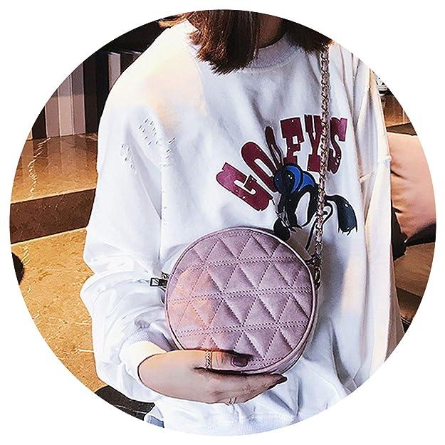 Bag Leather Crossbody Messenger Bag ies Purse Fe Round Bolsa Handbag, Brown, Mini(Max Length<20cm): Handbags: Amazon.com