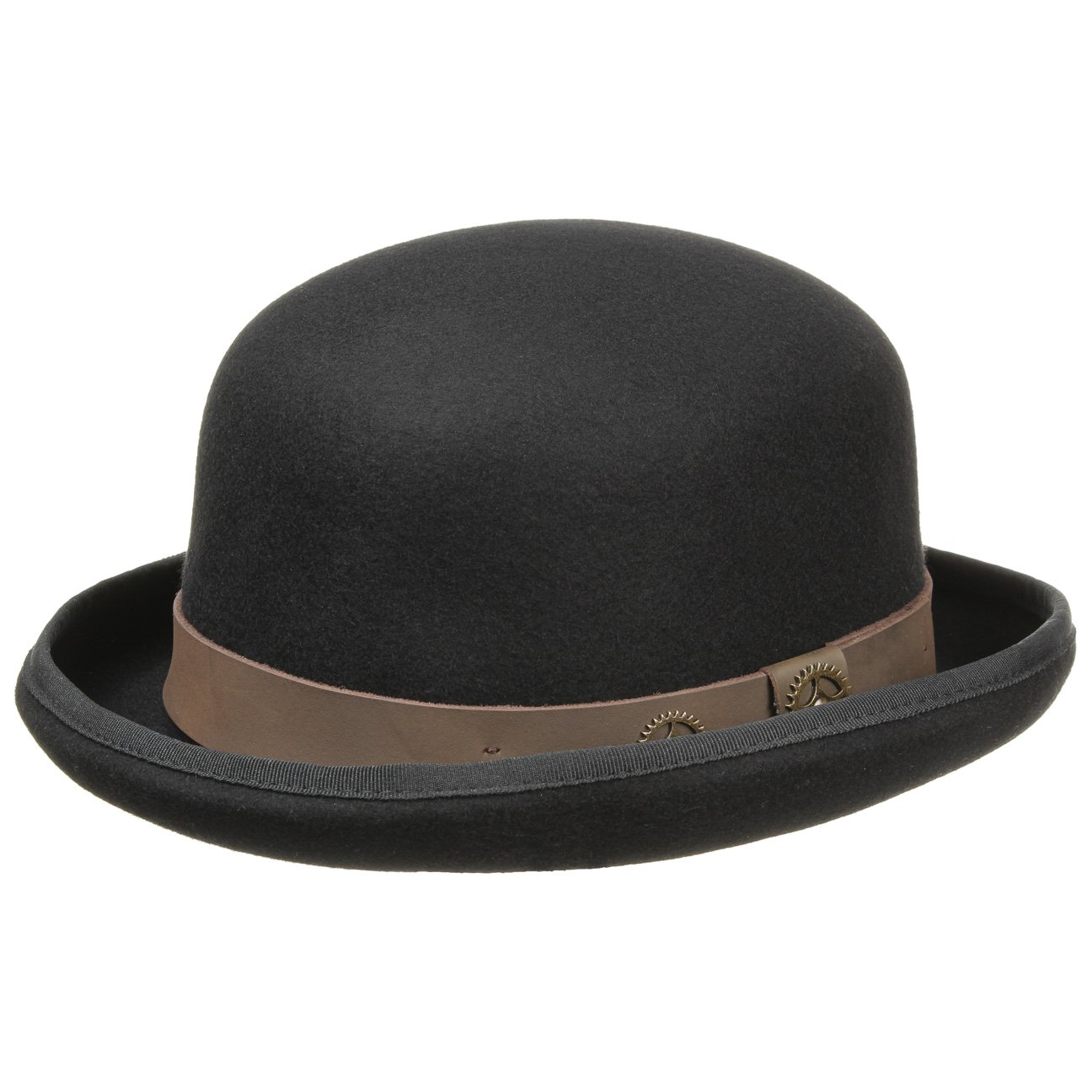 Conner Hats Mens Steampunk Bowler Hat