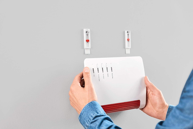Talla /Única tesa 1 Clavos Adhesivos para Papel Pintado Y Yeso Blanco