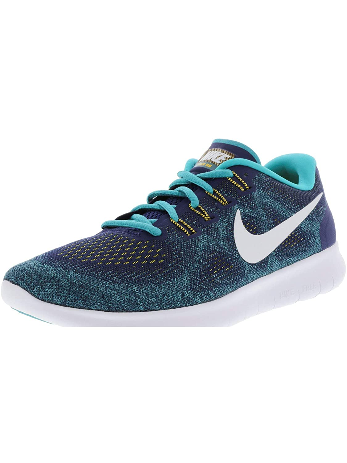 1c1e3fed15bf Nike Men s Free Run 2017 Blue Running Shoes (UK-9)  Buy Online at Low  Prices in India - Amazon.in