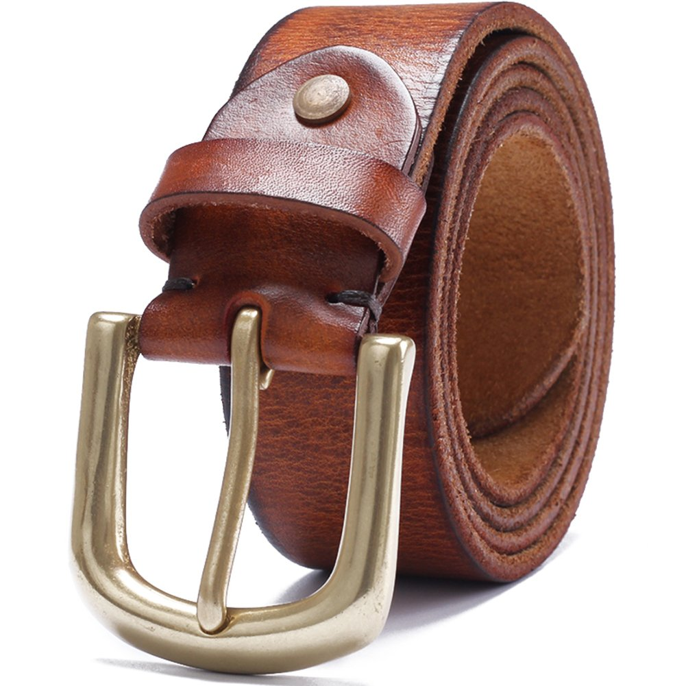 Mens Hundred-pin Buckle Belts Youth Casual Belt